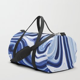 Melted Blueberry Duffle Bag