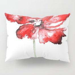 Poppy blooming 1 Pillow Sham