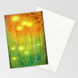 Glowing Lights Stationery Cards
