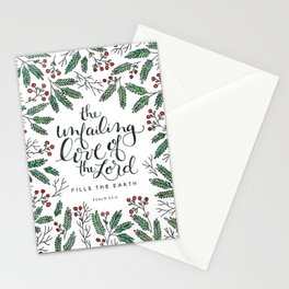 Unfailing Love Stationery Cards