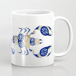Scorpion – Navy & Gold Coffee Mug