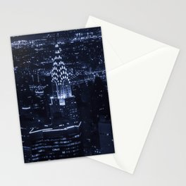 Electric Blue Stationery Cards
