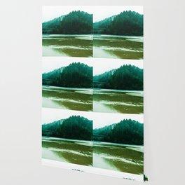 Foggy Beach in Oregon Wallpaper