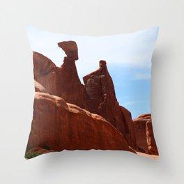 Nofretete   - Arches National Park Throw Pillow