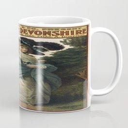 Vintage poster - Duchess of Devonshire Coffee Mug