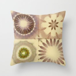 Bangles Proportion Flowers  ID:16165-105758-18940 Throw Pillow