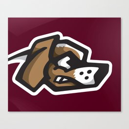 Scrappy Beagles Logo Canvas Print