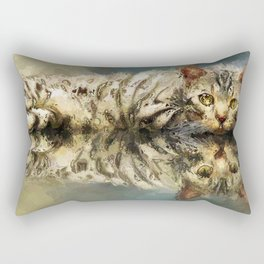 Scrutiny Rectangular Pillow