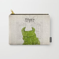 Hipster Chiuaua Carry-All Pouch