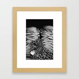Liu Kang (Kicks) Framed Art Print