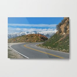 Southern California Roadtrip Metal Print