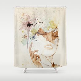 Floraison Shower Curtain