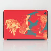 captain silva iPad Cases featuring Captain by SandraG.N.