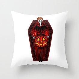 Jack of the Lantern Throw Pillow