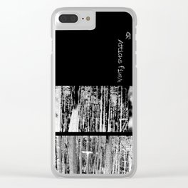 Atticus Finch Clear iPhone Case
