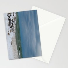 Cold front on Lake Michigan Stationery Cards