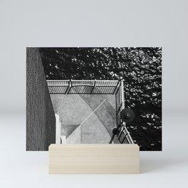 Sky View (b&w) Mini Art Print