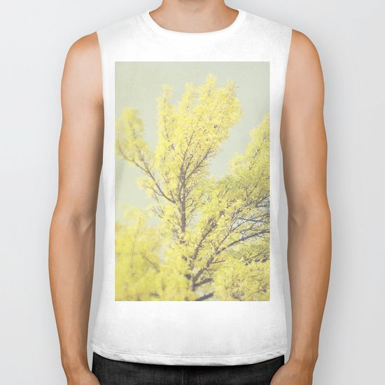 Yellow Tree Biker Tank