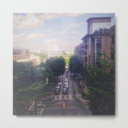 Green Street  Metal Print