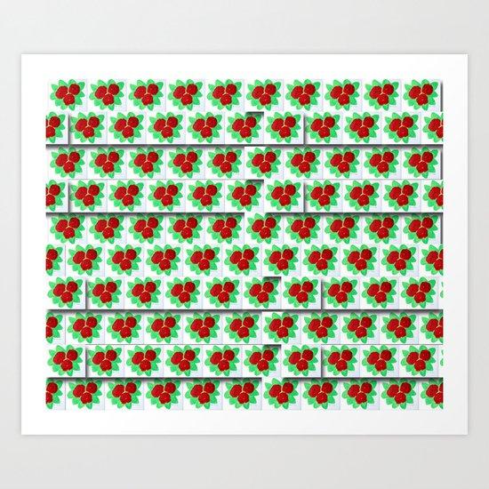 Roses VIII-A Art Print