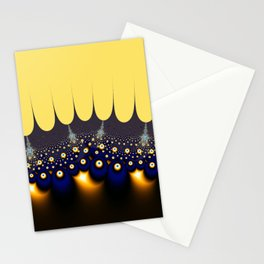 Fractal Crowned Stationery Cards