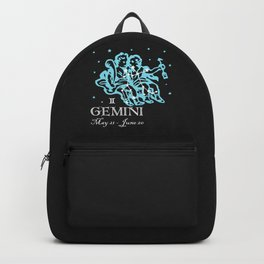 Gemini the Twins Constellation Backpack