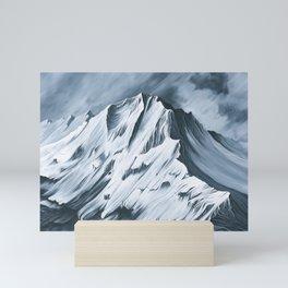 Grey Mountain Mini Art Print