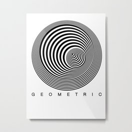 Geometric 1 Metal Print