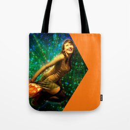 Galaxy Toot Girl | Sexy Pin Up Humor Tote Bag