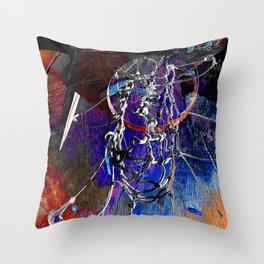 Moden Basketball art 9 Throw Pillow