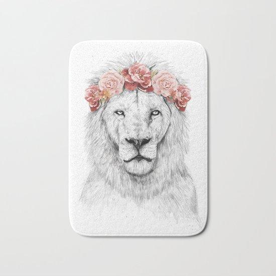 Festival lion Bath Mat