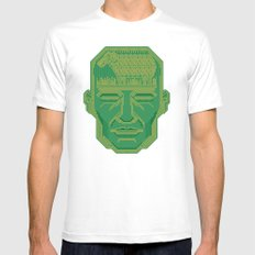 Android Dreams White Mens Fitted Tee X-LARGE