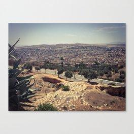 Fez - the ancient city. Original photograph. Canvas Print