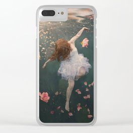 Rosewater Clear iPhone Case