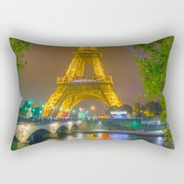 Eiffel Tower Rectangular Pillow