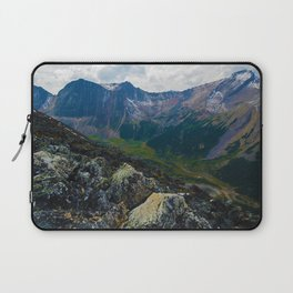 Down in the Valley, Pyramid Mt in Jasper National Park, Canada Laptop Sleeve