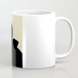 Marius & Cosette - A Heart Full of Love Silhouette Minimalist Coffee Mug