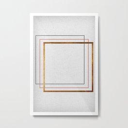 Square Metal Print