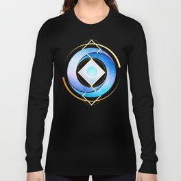Floating Geometry :: Winter Swirl Long Sleeve T-shirt