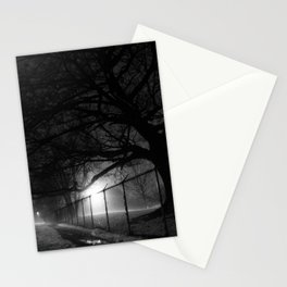 Oak in Evening Fog Stationery Cards