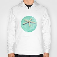 starfish Hoodies featuring starfish by Sylvia Cook Photography