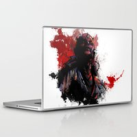 dark side Laptop & iPad Skins featuring The Dark Side by Vincent Vernacatola