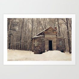 Mission Chapel Art Print