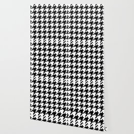 Classic Houndstooth Pattern Wallpaper