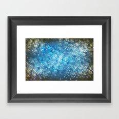 Shimmering Stars Framed Art Print