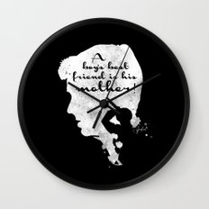 Boy's best friend – Norman Bates Psycho Silhouette Quote Wall Clock