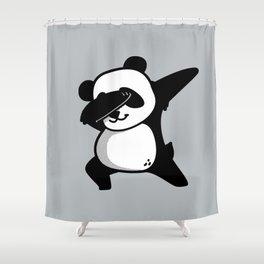 Dabbing Panda Shower Curtain