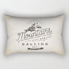Mountains Rectangular Pillow
