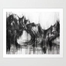 Dark №1 Art Print