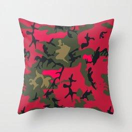 CAMOU Throw Pillow